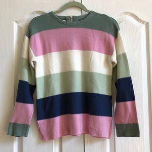 Zara Knitwear Striped Sweater Size Medium